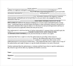 sample hipaa release form 7 download free documents in pdf word
