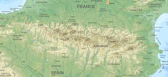 Andorra Map Going To The Pyrenees Weepingredorger