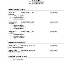 blank resume templates for microsoft word blank resumeses fill in the resumee for highschool students free to