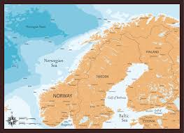 Map Of Norway Map Of Norway Guide Of The World