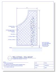Trellis Construction Trellises And Arbors Caddetails Com Caddetails