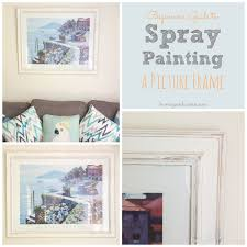 beginner u0027s guide to spray painting a picture frame honey u0026 roses