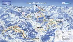 Piste Maps For Italian Ski by Bergfex Piste Map Sportgastein Ski Amade Panoramic Map
