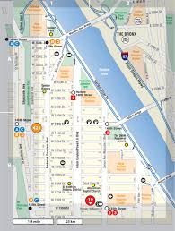 Map Of Harlem Harlem Upper Not For Tourists Guide To New York City Not For