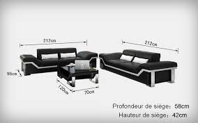 dimensions canapé 3 places dimensions canape 3 places maison design hosnya com