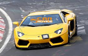 Lamborghini Aventador Front View - lamborghini aventador sv bull spied at the nurburgring