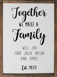 wedding quotes joining families blended family sign family gifts blended family wedding gift
