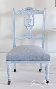 Swedish Blue Paint by Annie Sloan Inspiration