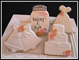 favor cookies nanny s sugar cookies llc bridal shower cookie favors