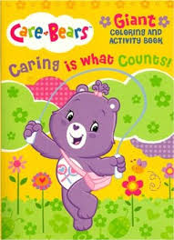buy care bears giant coloring activity book caring