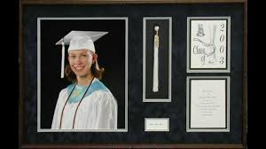 graduation shadow box custom framed diplomas shadow boxes