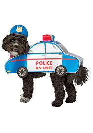 halloween costumes car k 9 police car costume for dogs