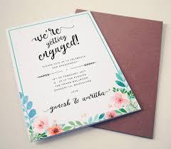 40 printable engagement invitations templates free premium