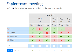 doodle poll tool the 17 best meeting scheduler apps and tools in 2017