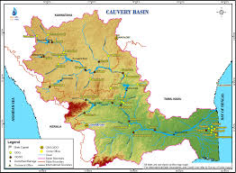 Kerala India Map by Cauvery