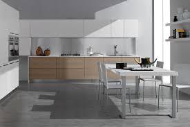 contemporary kitchen oak wood veneer island seta by ged