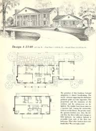 Vintage Southern House Plans Vintage House Plans 1970s Early American Southern Heritage