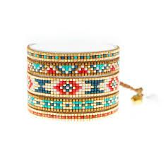 beading bracelet images Mishky multi color beaded bracelet designer statement jewelry and jpg