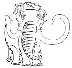 mammoth cartoon sketch by kiteflier03 on deviantart