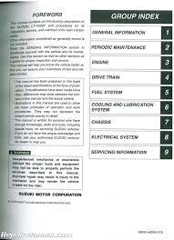 lt f500f service manual 28 images suzuki lt f500f service