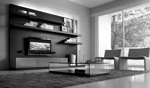 interior design my house with contemporary black and white room
