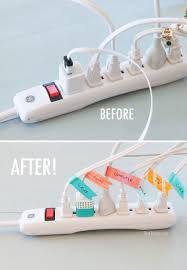 how to organize your office cord labeling solution how to label household device cords