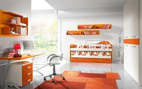 bedroom deluxe orange blue eclectic bedroom decoration ideas