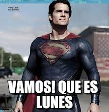 Super Man Meme - vamos que es lunes superman meme on memegen