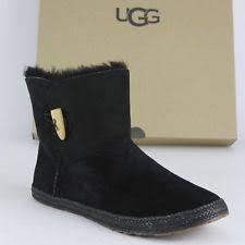 ugg s layna boots black ugg australia s suede us size 6 5 ebay