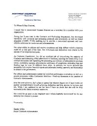 ideas collection cover letter sample for previous employer with