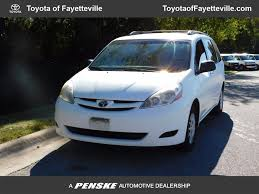 2008 used toyota sienna 5dr 7 passenger van le fwd at honda of