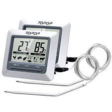 sonde de cuisine thermomètre et minuteur cuisine sonde numérique de cuisine