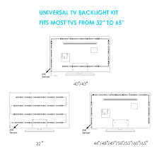 home theater backlighting 46 off megullabias lighting kit accent ambient lighting pre cut