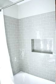 Light Grey Tiles Bathroom Grey Subway Tile Shower Fancy Pebble Tile Bathroom Ideas Exciting