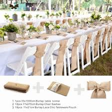 burlap chair sashes folding chair decorations for wedding fresh rustic wedding