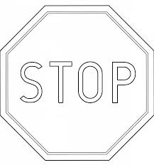 download coloring pages stop sign coloring page stop sign