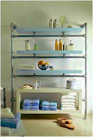 bathroom glass shelves for bathroom shower diy faux floating