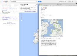Los Angeles California Google Maps by Google Map Embedded In Website Loading Google Page Rather Than The