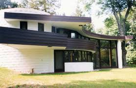 David Wright Architect by The Curtis Meyer House A Usonian Hemicycle In Michigan