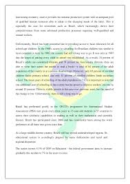 country report template middle school brazil country analysis report