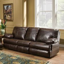 simmons miracle brown leather sectional furniture and interior