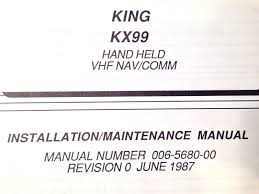 king kx 99 navcom service manual u2022 176 34 picclick