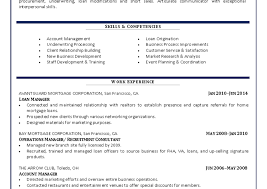 Sle Resume Mortgage Operations Manager Customer Account Manager Resume Regional Sales Manager Resume