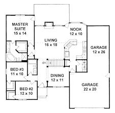 house plans tandem garage house plans