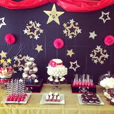 a star is born baby shower theme sweet table inspired by hwtm