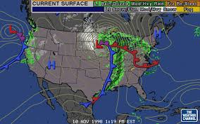 weather fronts map in the clouds 101 polar front cyclone model