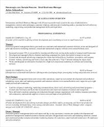 Administrative Manager Resume Sample by Free Manager Resume Templates 40 Free Word Pdf Documents