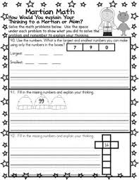 facts place value counting word problems worksheets explain your