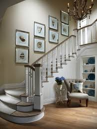 Ideas To Decorate Staircase Wall Decorating Staircase Walls Staircase Style With Beige Wall