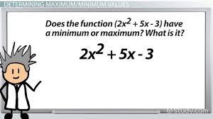 Calculus Optimization Word Problems Worksheet Finding Minima U0026 Maxima Problems U0026 Explanation Video U0026 Lesson